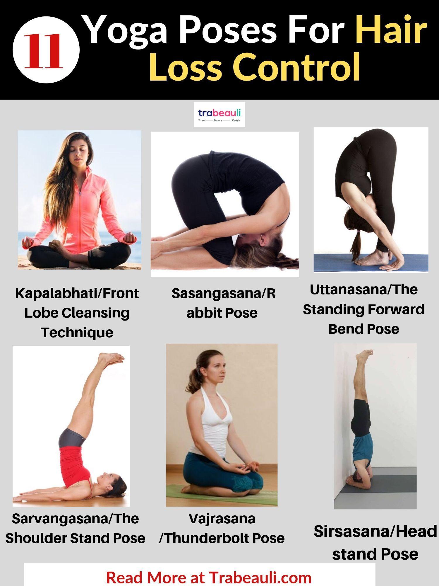 Yoga Poses Good For Hair Growth