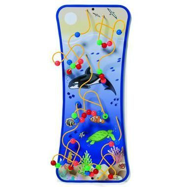 Playscapes Seascape Wire and Bead Maze Wall Toy