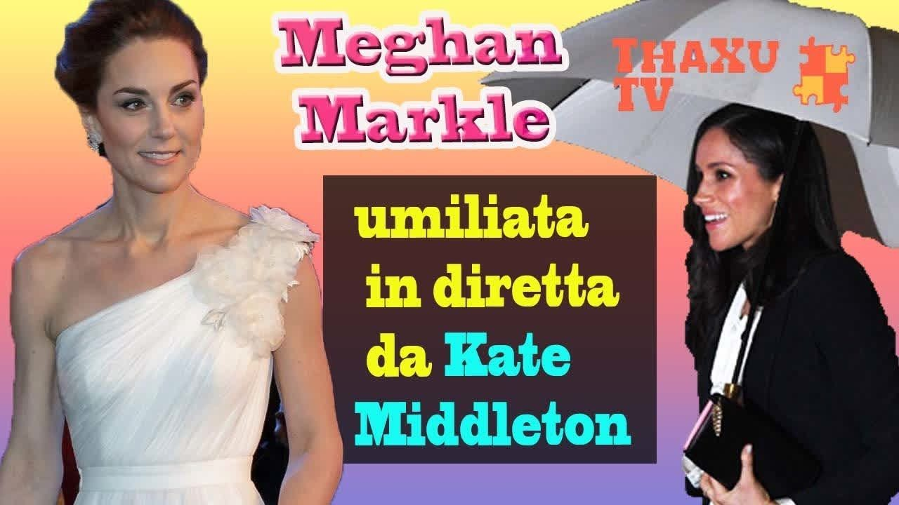 Meghan Markle umiliata da Kate Middleton   la cognatina sul red carpet  vestita così 383f5452708