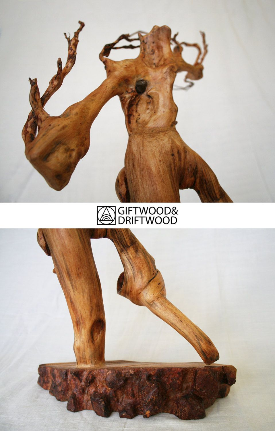 Pin by GiftWoodAndDriftwood on Sculptures Pinterest