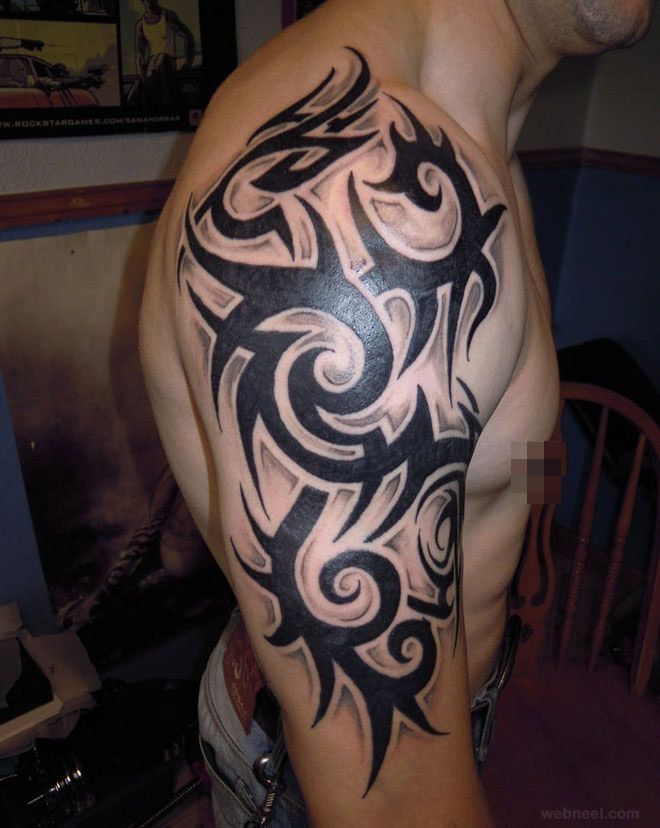 30 Beautiful And Creative Tribal Tattoos For Men And Women Neat