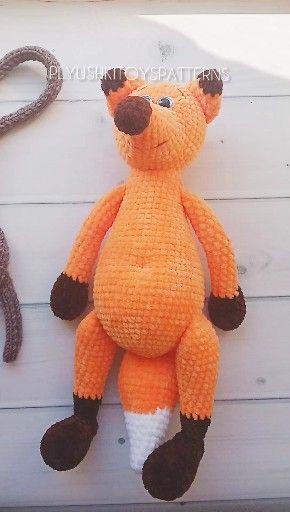 Pattern Crochet Foxes Etsy Video Video In 2021 Crochet Patterns Crochet Fox Crochet Toys Patterns