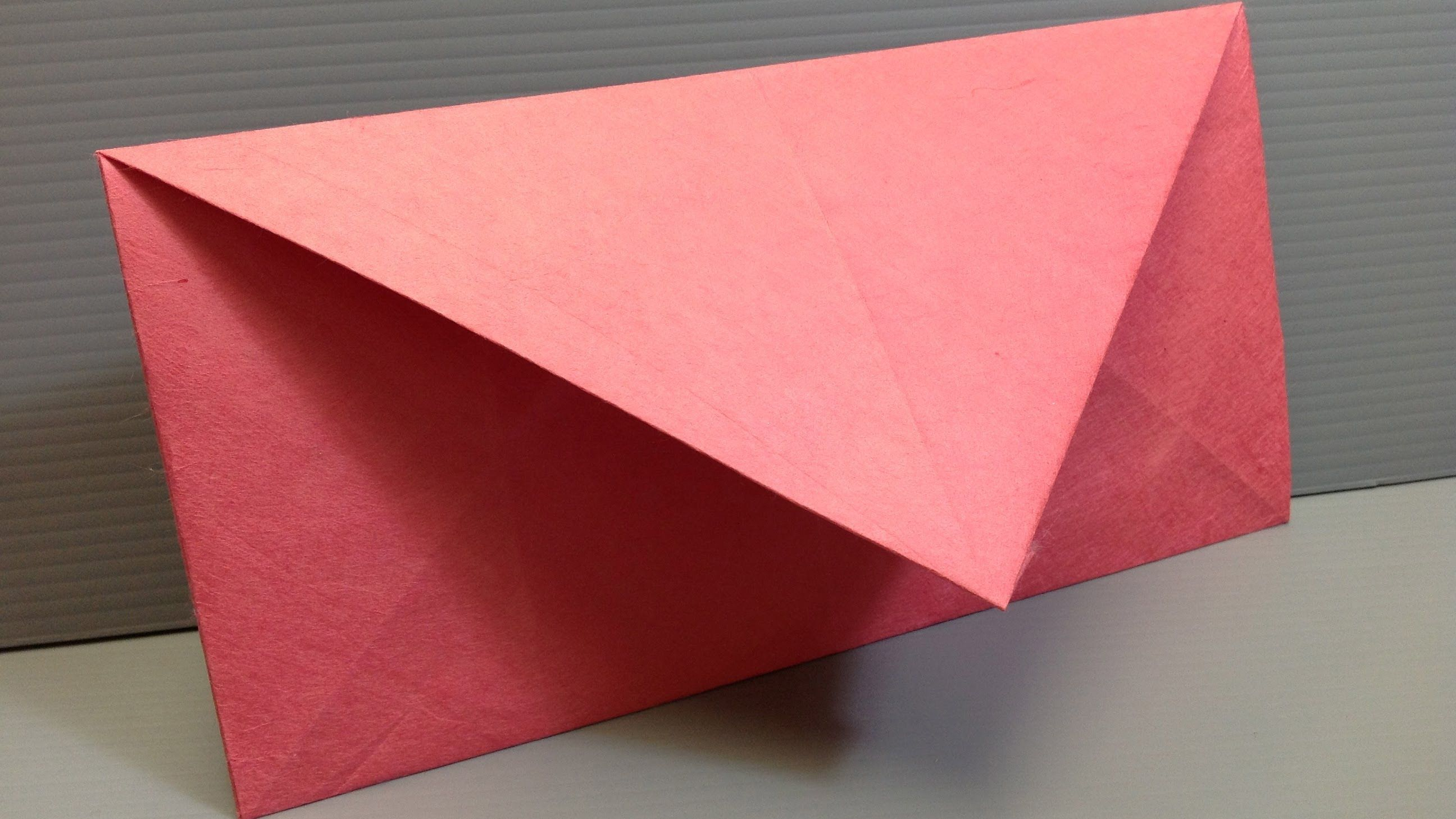 How To Make An Origami Envelope In Us Letter Size Or Any Size