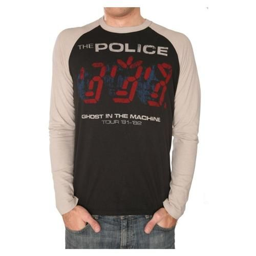 325b01856 Trunk Ltd. The Police Tour 81-82 Long-Sleeve T-Shirt | Cool T-Shirts ...