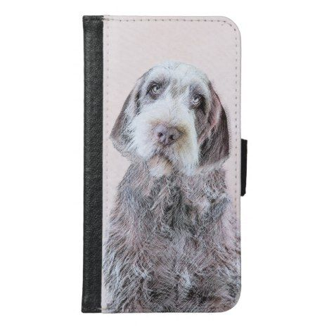 Wirehaired Pointing Griffon Painting - Dog Art Samsung ...