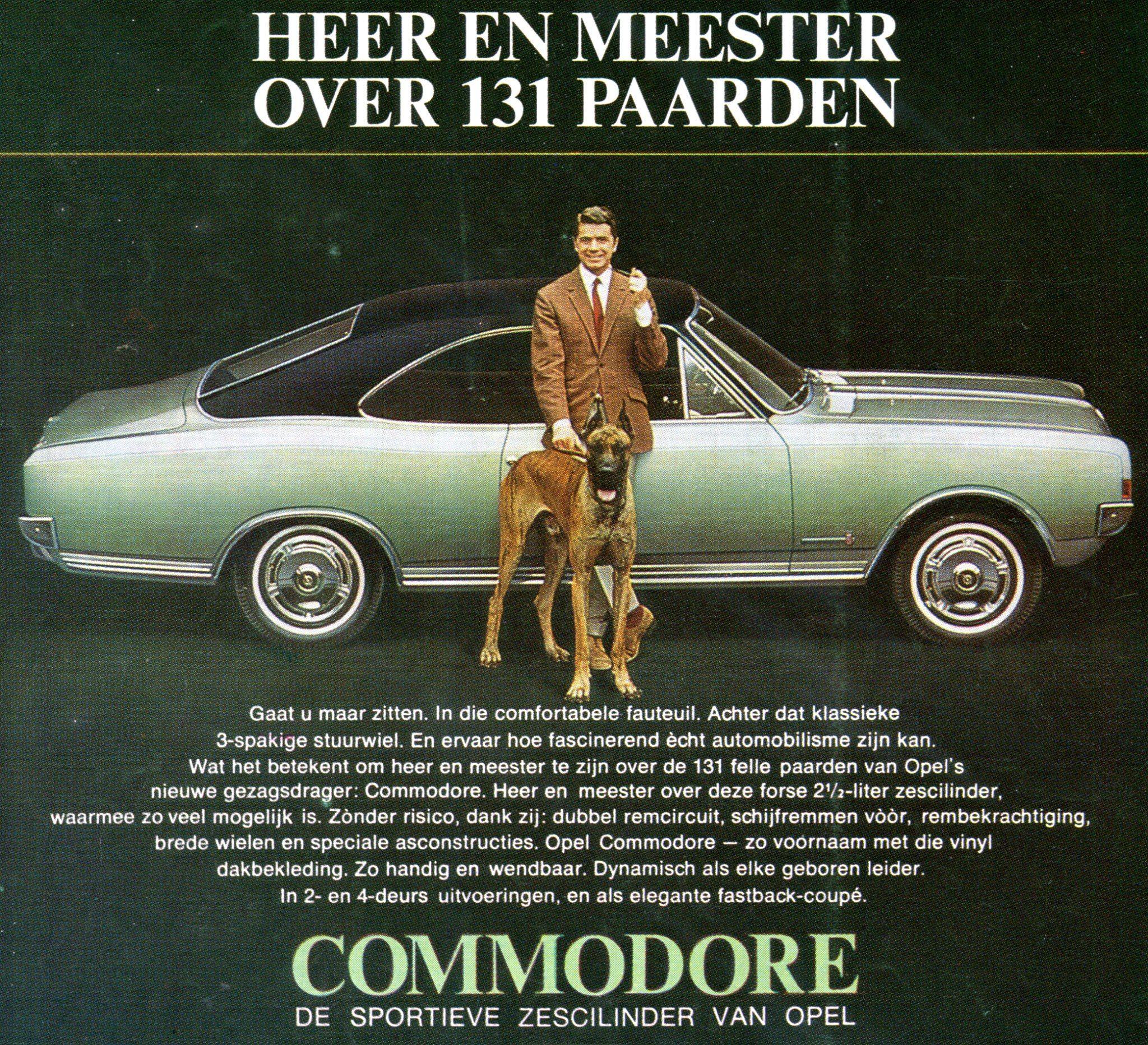 Dutch commercial Opel Commodore | Great Danes Pinterest | Pinterest