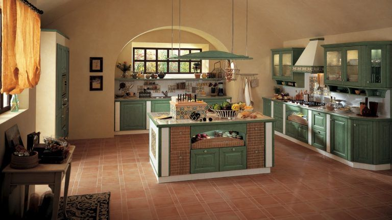 Cucina Rustica Con Isola Con Cucine Rustiche Con Isola ...