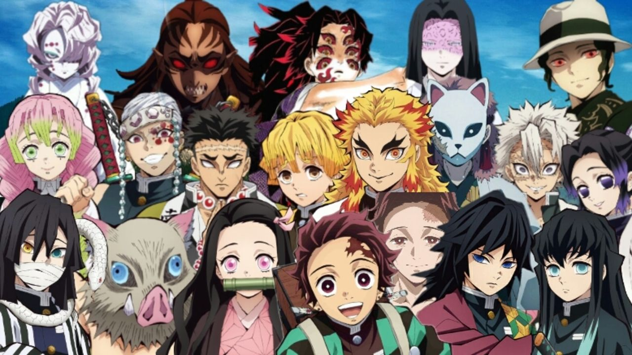 Demon Slayer Characters Conquer The Animedia Character