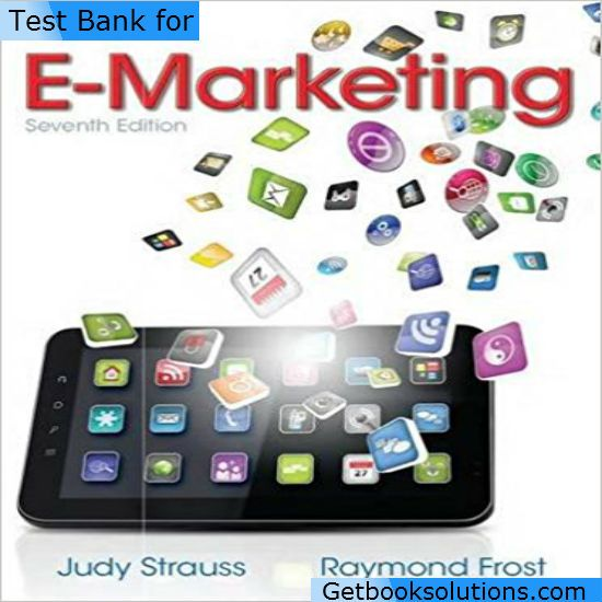 Test bank for e marketing 7th edition by judy strauss raymond d test bank for e marketing 7th edition by judy strauss raymond d frost download fandeluxe Image collections