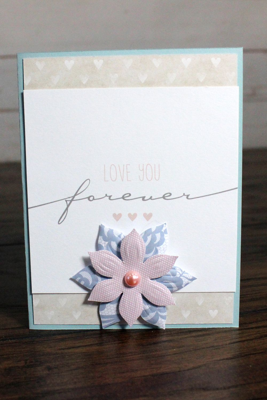 Create beautiful cards creative memories natural elegance