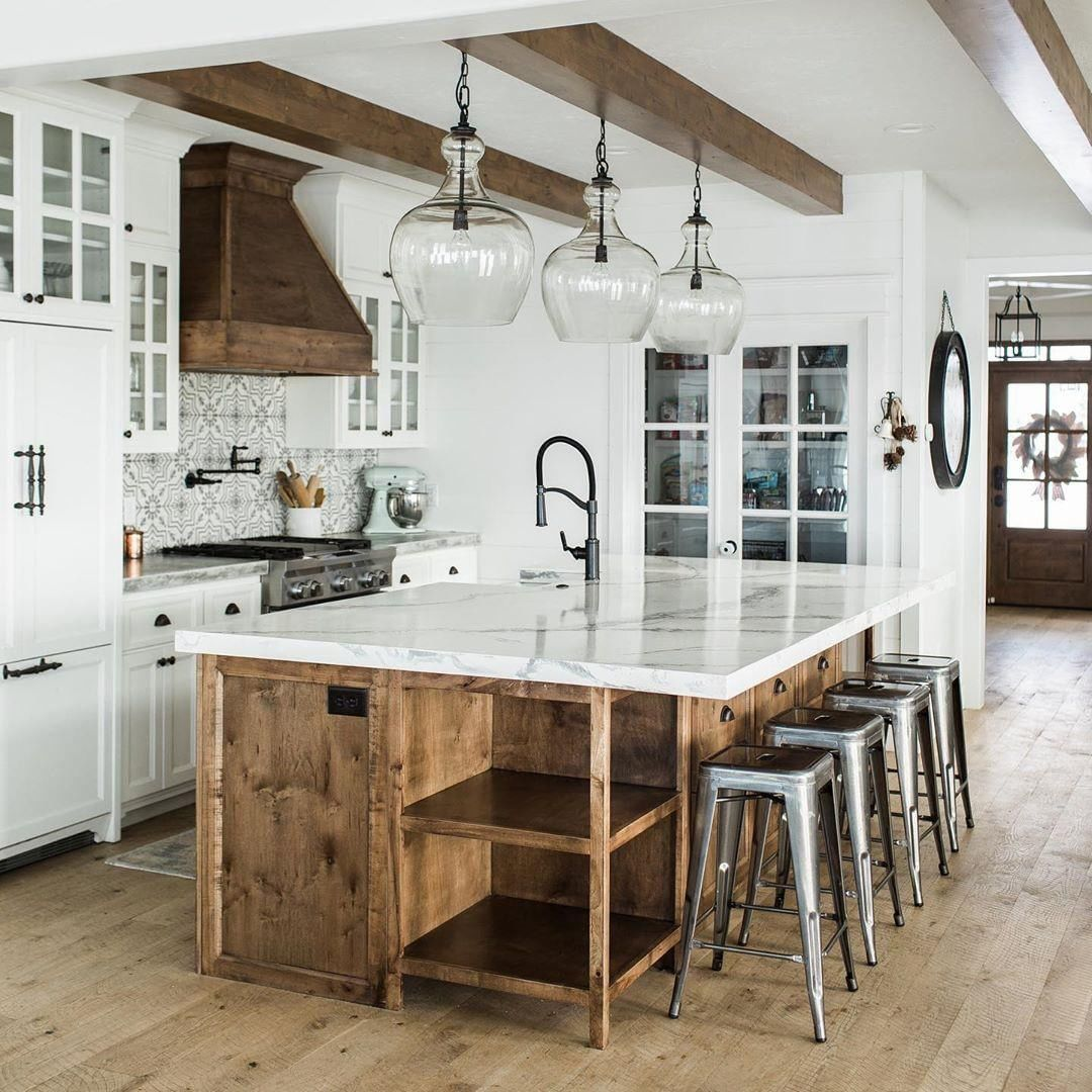 Modern Rustic Kitchen Designs And Ideas Rustic Home Decor And Design Ideas Farmhouse Style Kitchen Farmhouse Kitchen Design Rustic Farmhouse Kitchen