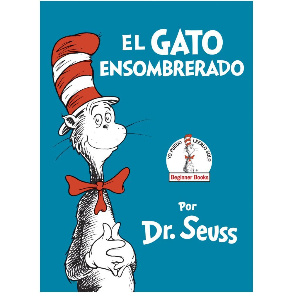The Cat In The Hat Spanish Oriental Trading In 2021 School Rhymes How To Speak Spanish Beginner Books