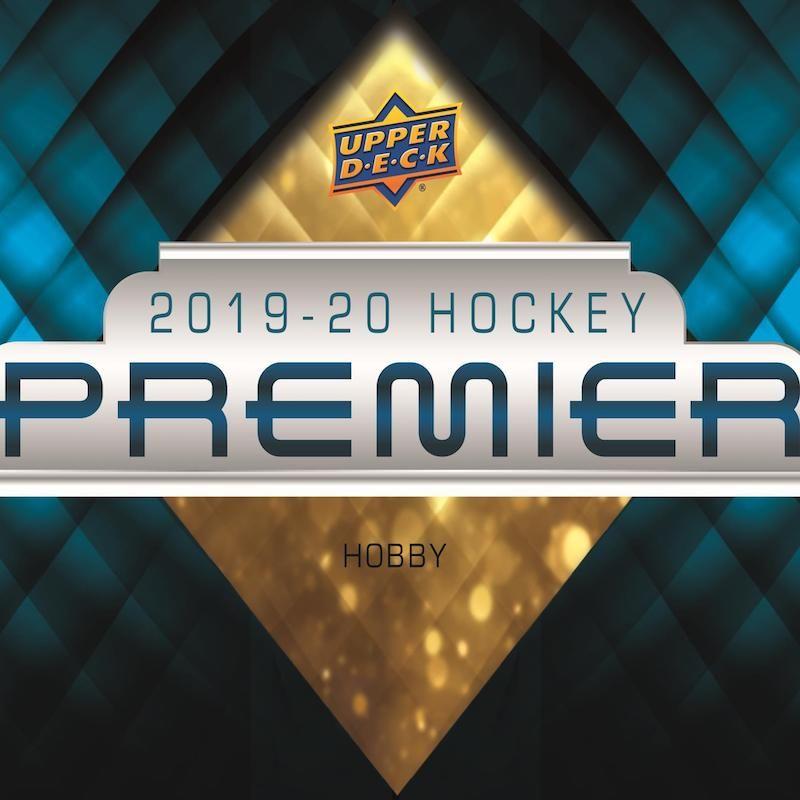 201920 upper deck premier hockey checklist info odds