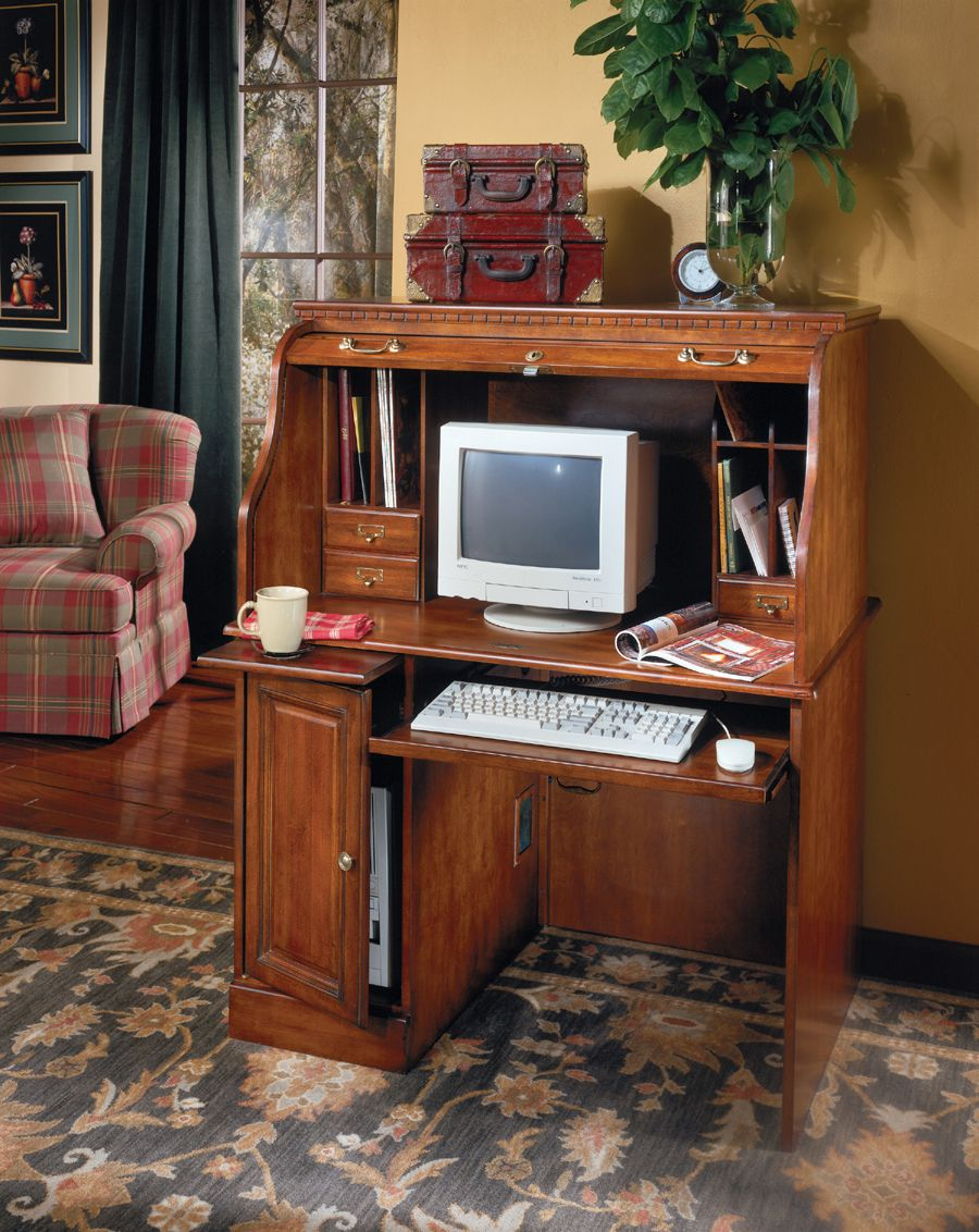 Merveilleux Ashley Furniture Roll Top Desk