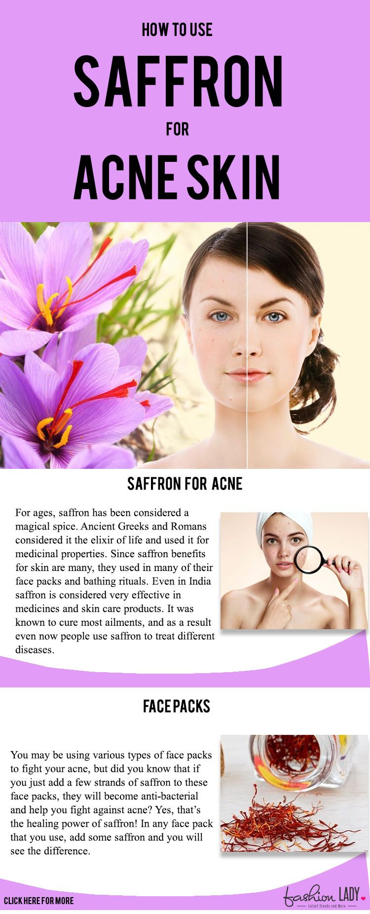 saffron for acne skin: how this spice can change your life