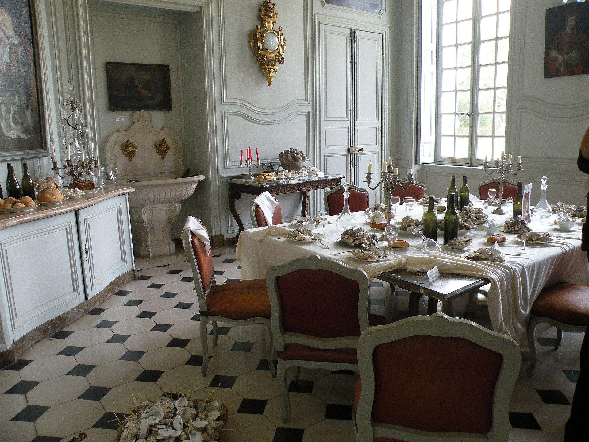 Category Domaine De Villarceaux Chateau Du Haut Salle A Manger