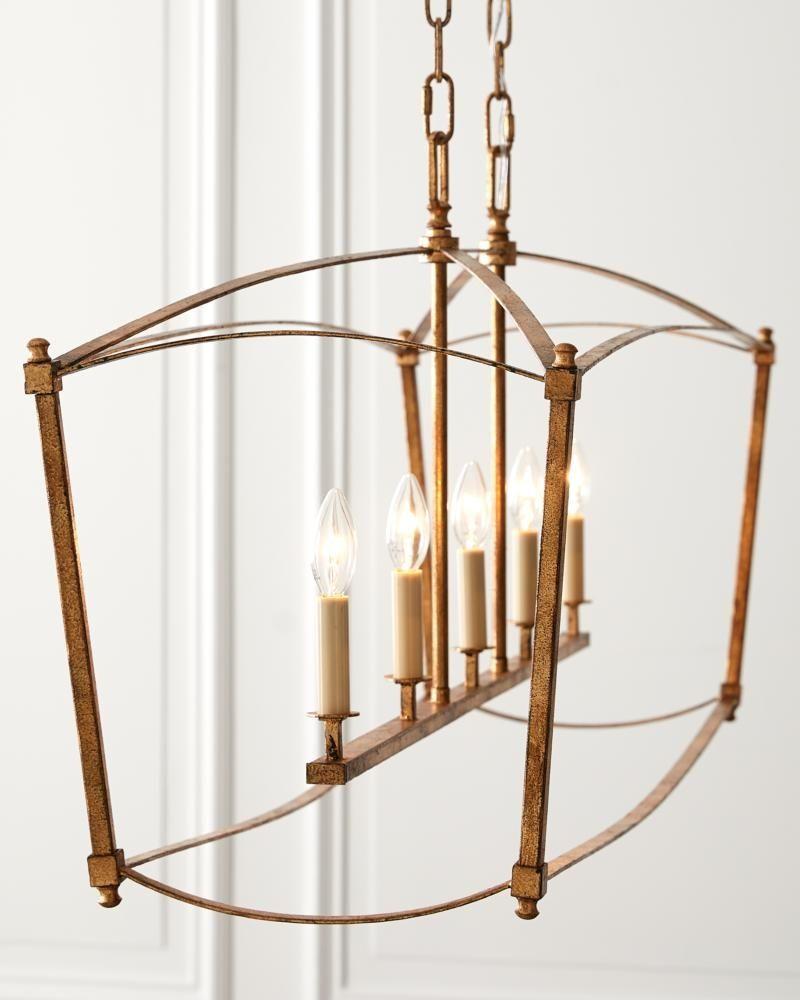Feiss Lighting Thayer 5 Light Linear