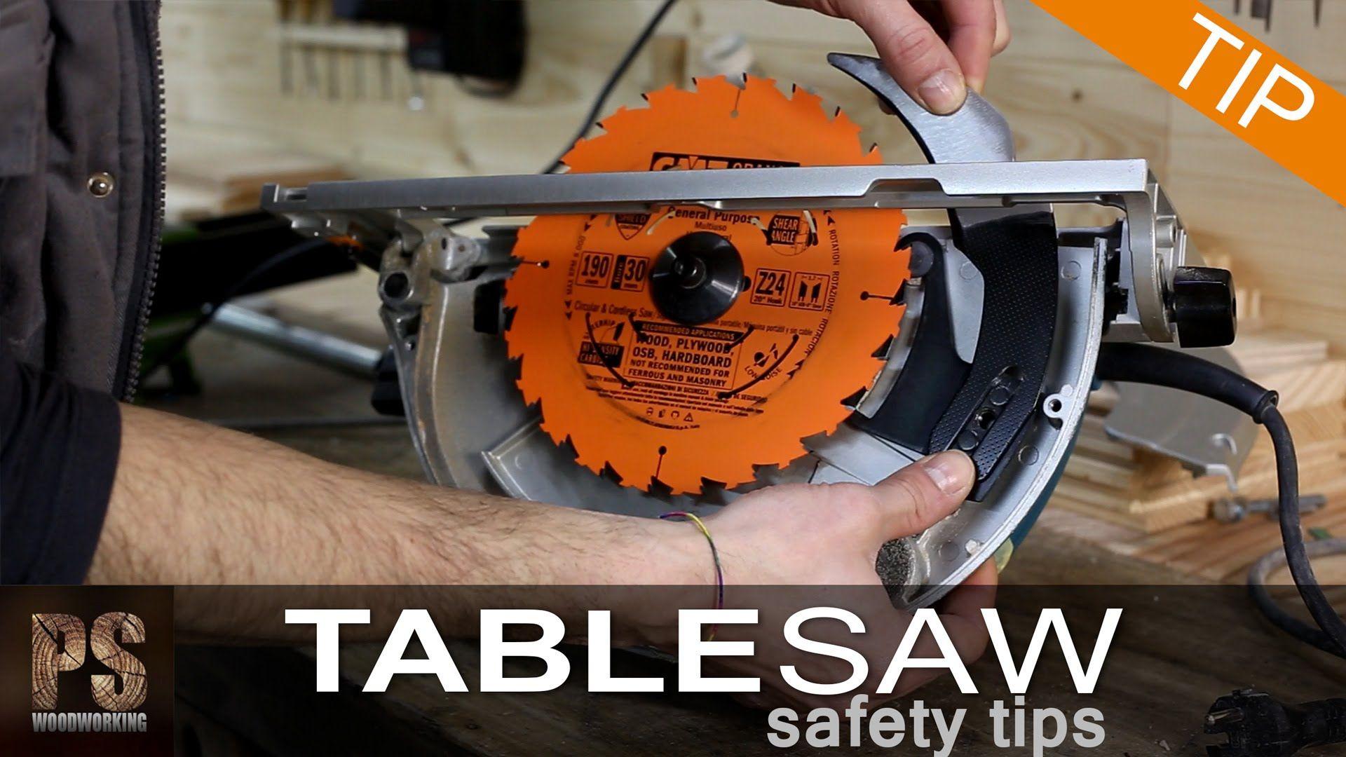 Table Saw Safety Tips Table Saw Safety Table Saw Workshop Plans