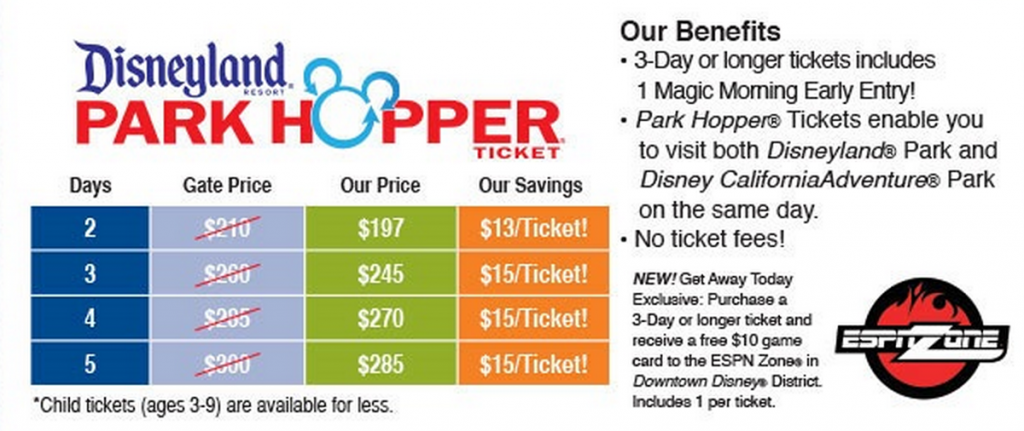 Freebies2deals Discount Disneyland Tickets Price Increase Disneyland Tickets Disneyland Ticket Prices Discount Disneyland Tickets