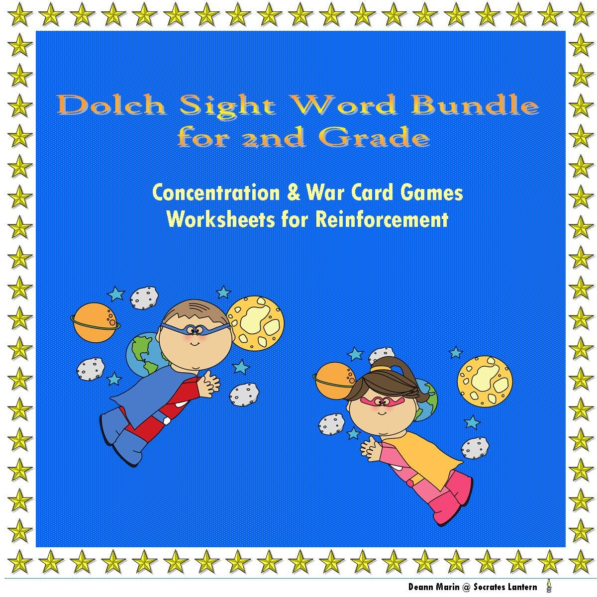 Sight Word Games Amp Worksheets Grade 2