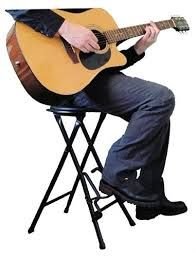 Pleasant My Guitar Stool Gitaras Stativs Guitar Foot Rest Squirreltailoven Fun Painted Chair Ideas Images Squirreltailovenorg
