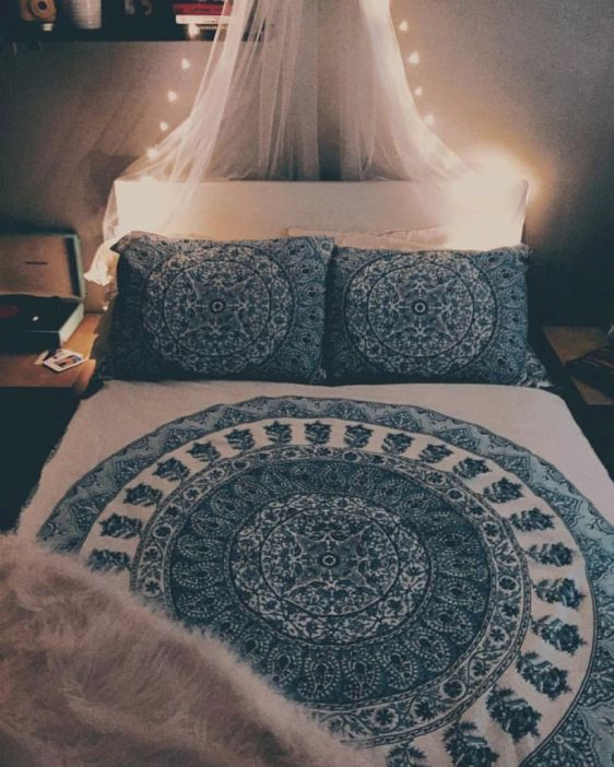 Cozy bohemian teenage girls bedroom ideas (13 is part of Teenage Bohemian bedroom - Cozy bohemian teenage girls bedroom ideas (13)