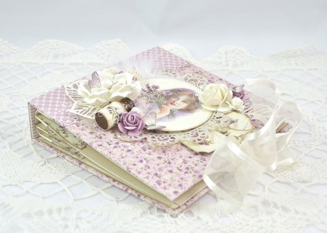 Cathrines hjerte: Mini album #DT Pion Design