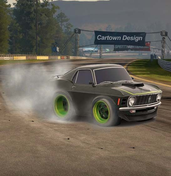 Ford Mustang BOSS 429 1970 - RTR-X Mustang