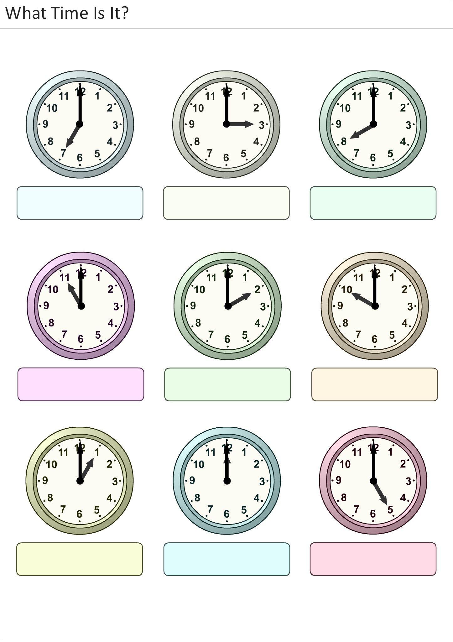 worksheet A Que Hora Worksheet actividades para preescolar primaria e inicial plantillas con relojes analogicos aprender la