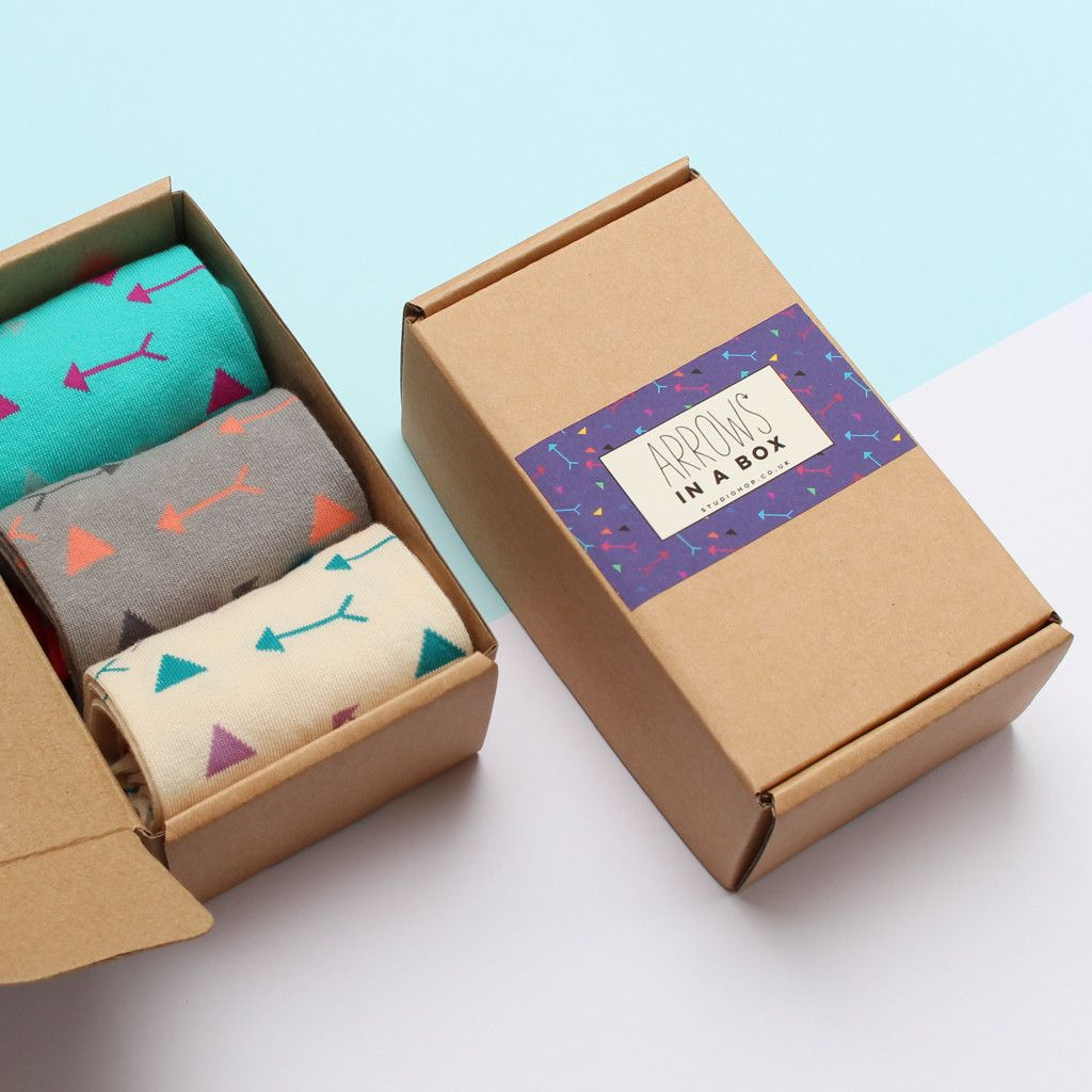 Arrows Sock Gift Box