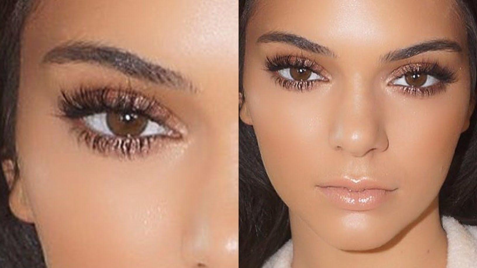Kendall Jenner Natural Holiday Makeup Tutorial 2015