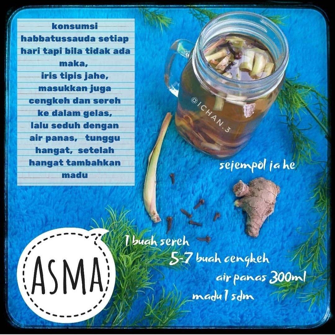 Resep Jsr Asma Resep Diet Sehat Obat Alami Kesehatan Alami
