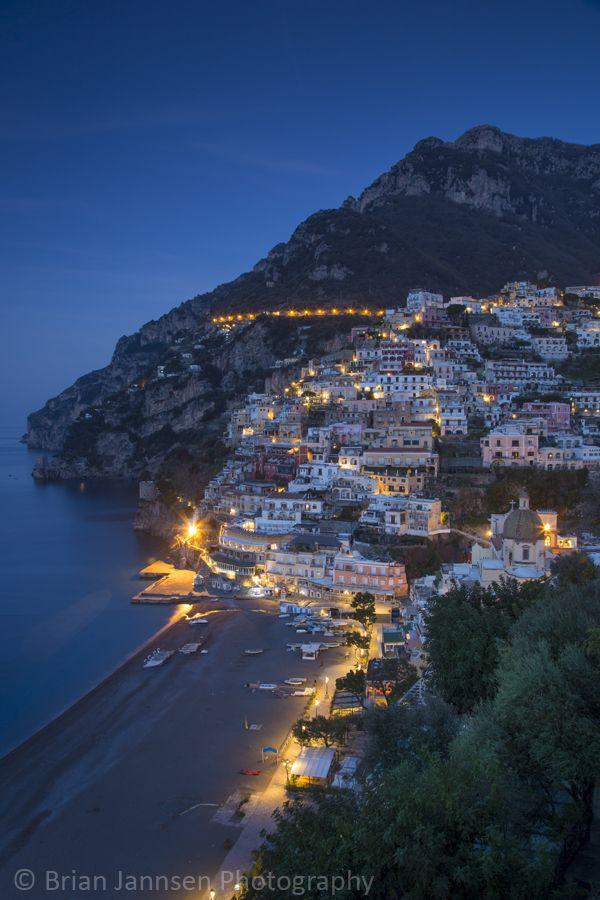 Early morning over Positano, Campania, Italy. © Brian Jannsen Photography