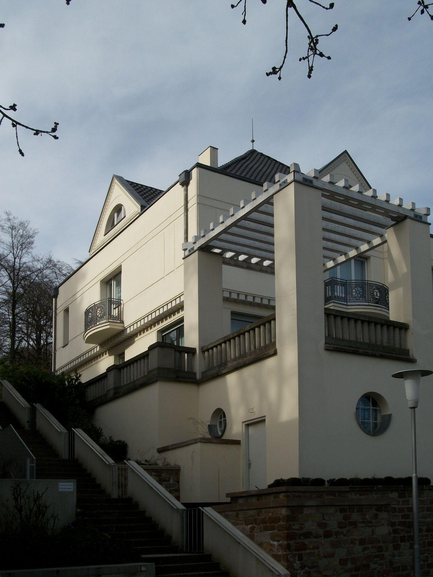 Peter behrens villa obenauer saarbr cken 2 peter for Behrens house