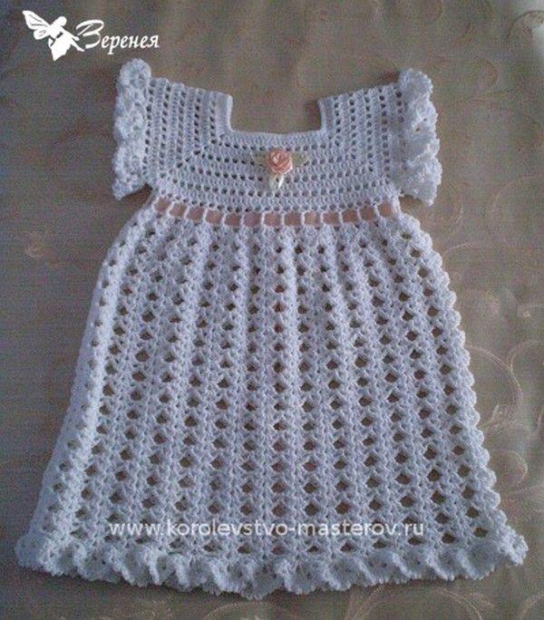 robe pour bapt me et ses grilles gratuites crochet pinterest crochet robes and tags. Black Bedroom Furniture Sets. Home Design Ideas