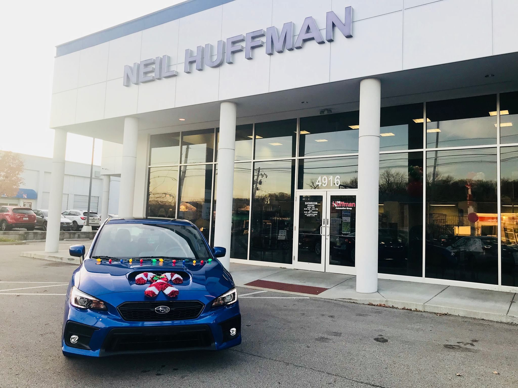 Our retailers are ting in the WRXmas spirit thanks Neil Huffman