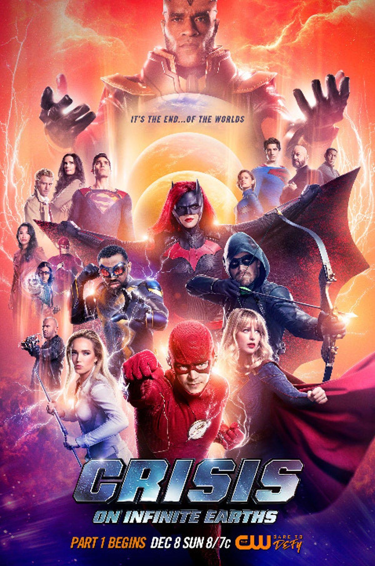 Poster Crisis On Infinite Earths Rare In 2020 Infinite Earths