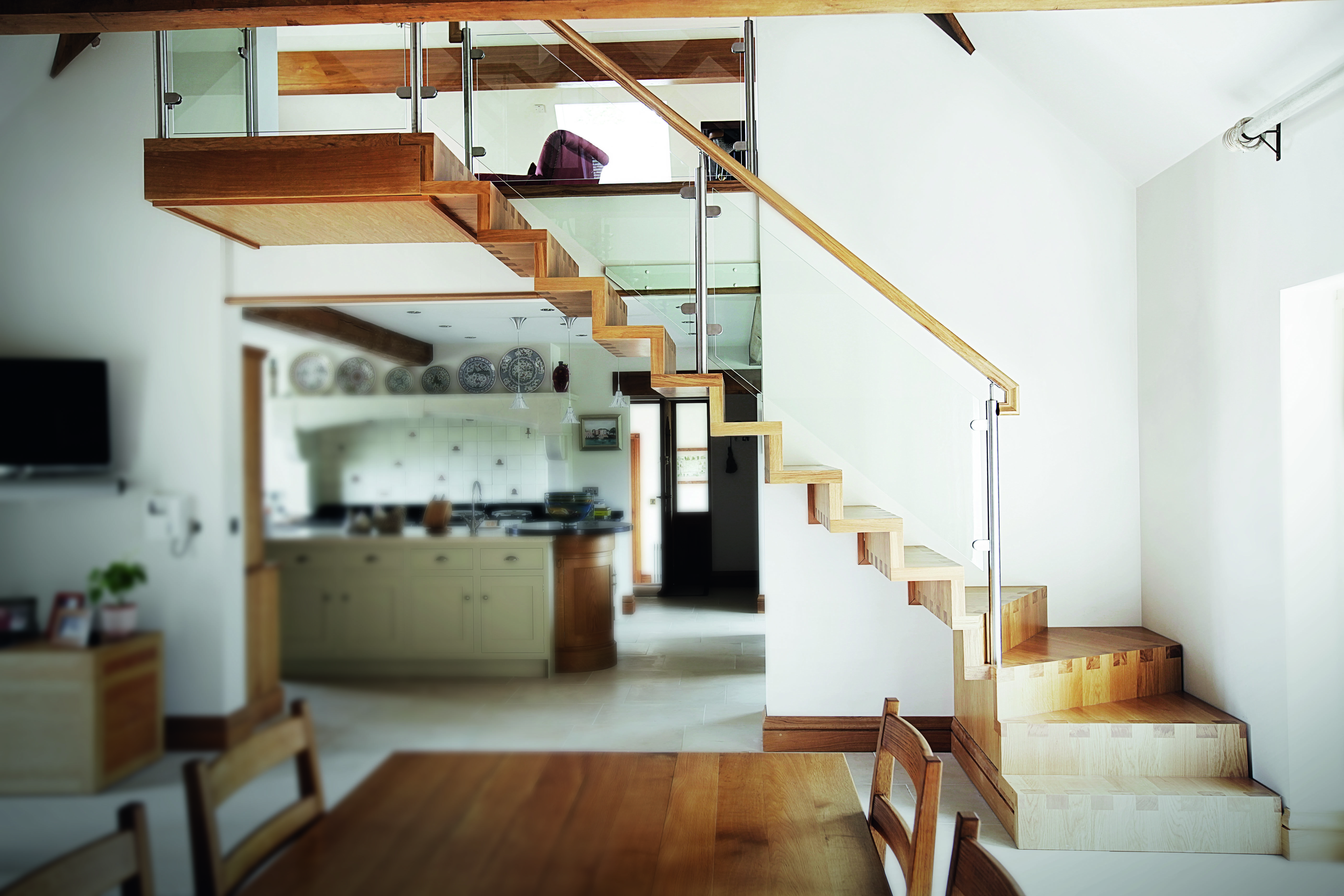 Best Bespoke Staircases Staircase Manufacturers Meer End 400 x 300
