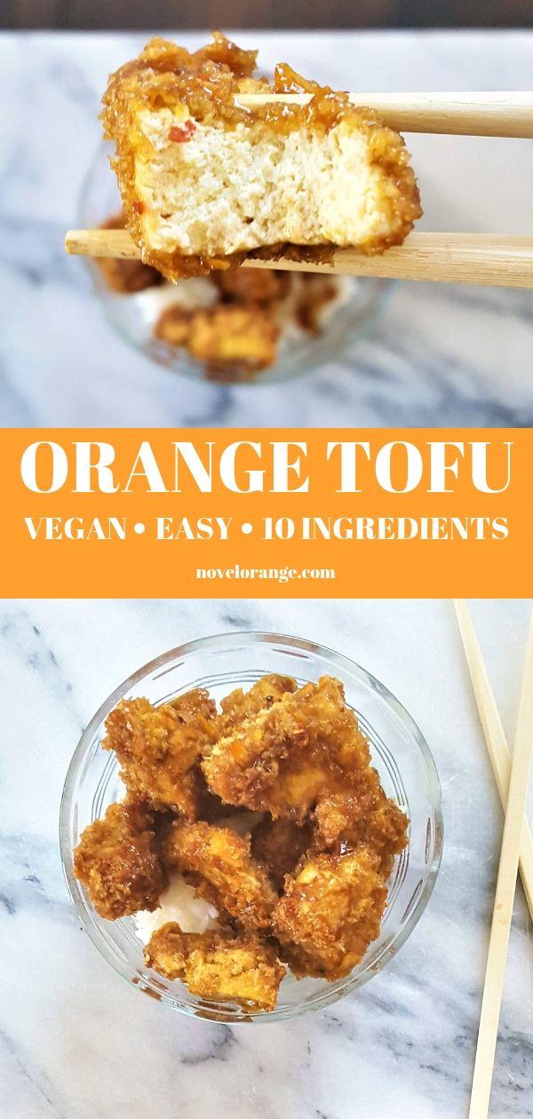Vegan Orange Chicken images
