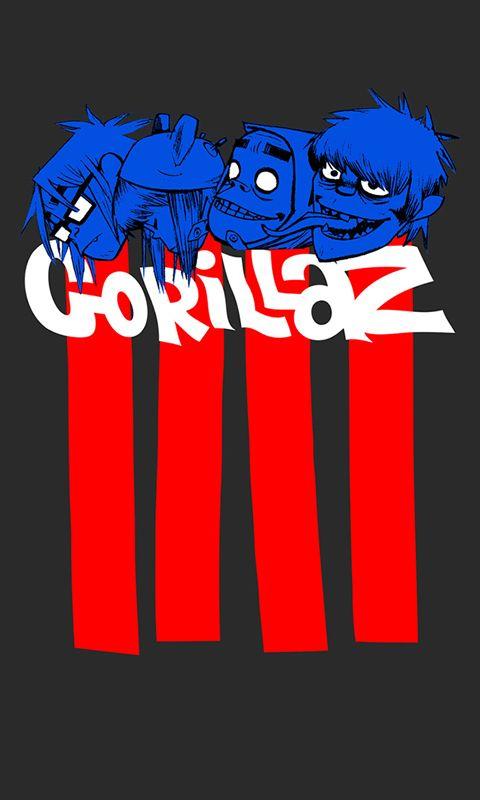 Wallpapers, Phone Wallpapers Pt.3 in 2020 Gorillaz