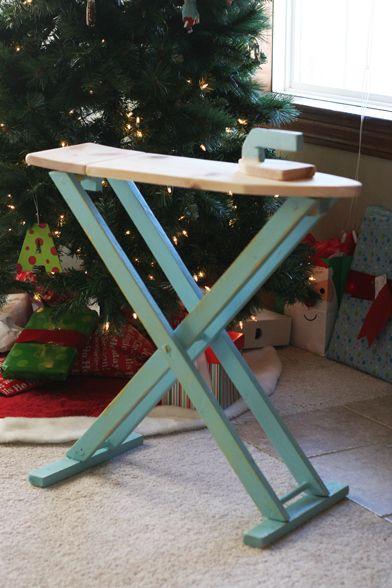 Child Sized Ironing Board Ironing Board Diy Kids Toys Wood