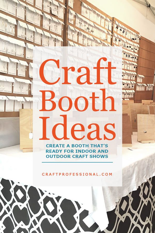 Craft Fair Booth Ideas For Indoor And Outdoor Shows Craft Fairs