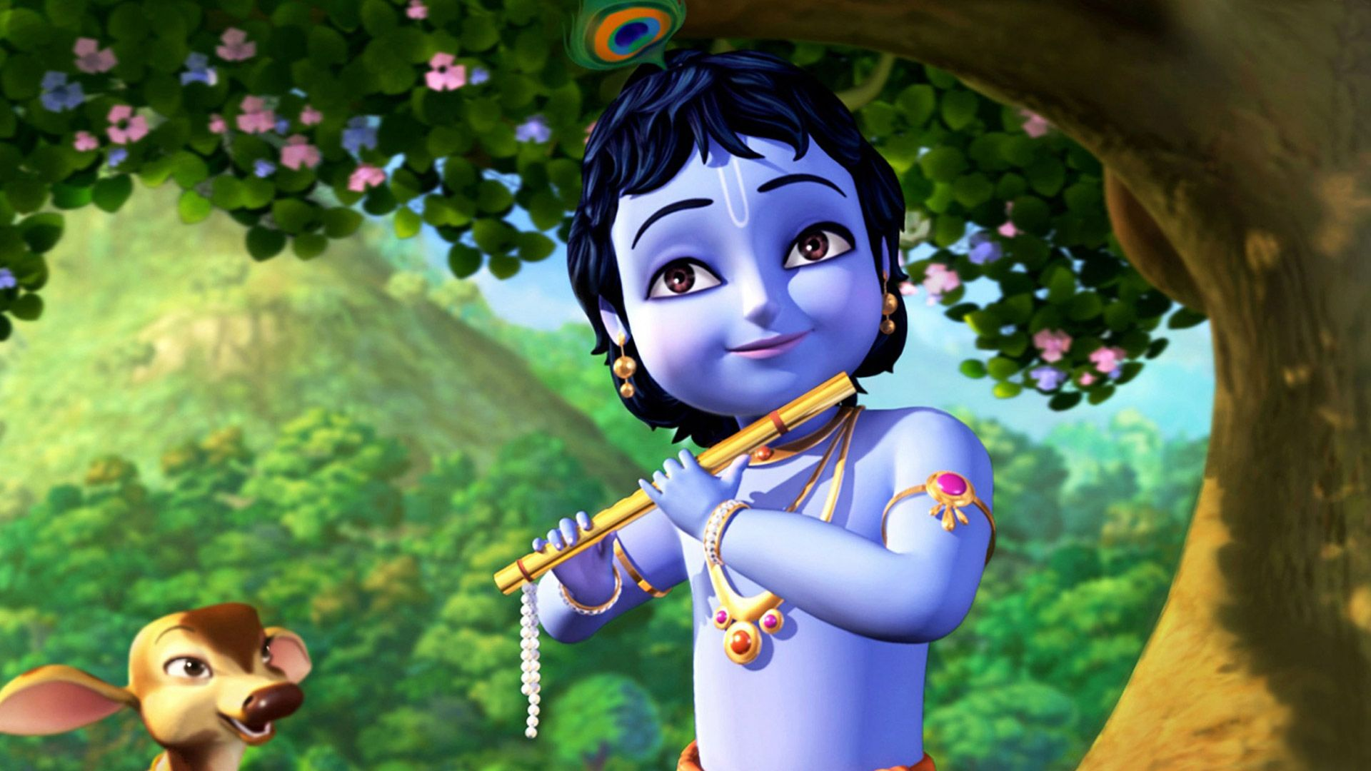 let us gather together and celebrate the birth of lord krishna let us sing dance pray and rejoice his presence this day happy janmashtami to yo