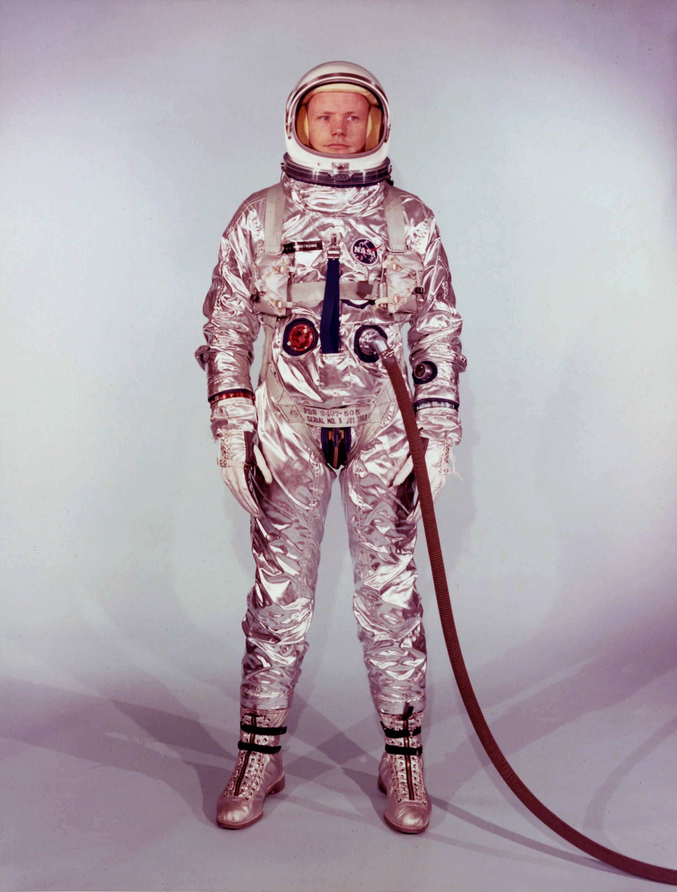 Neil Armstrong in his Gemini 8 spacesuit 1966 2166x2854