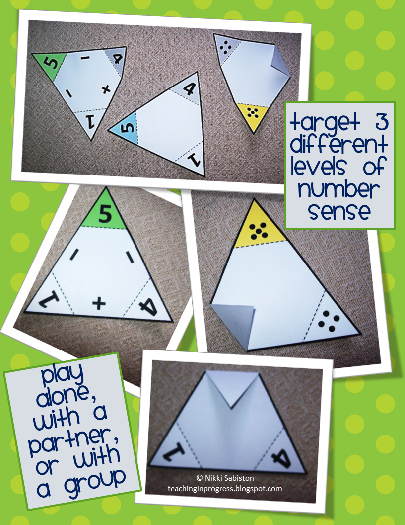 Fact Family Math Triangles Part Part Whole Fact