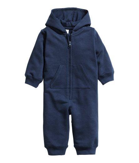 Sweatoverall | Dunkelblau | Kinder | H&M AT