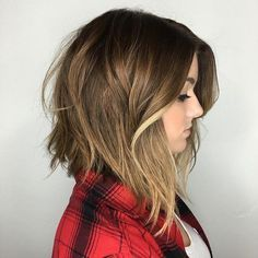Hairstyles For Thin Fine Hair Captivating 60 Inspiring Long Bob Hairstyles And Haircuts  Lob Shaggy And