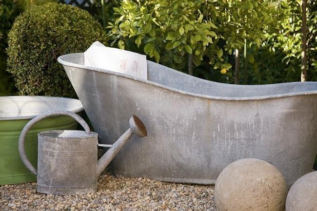 French Zinc Bath