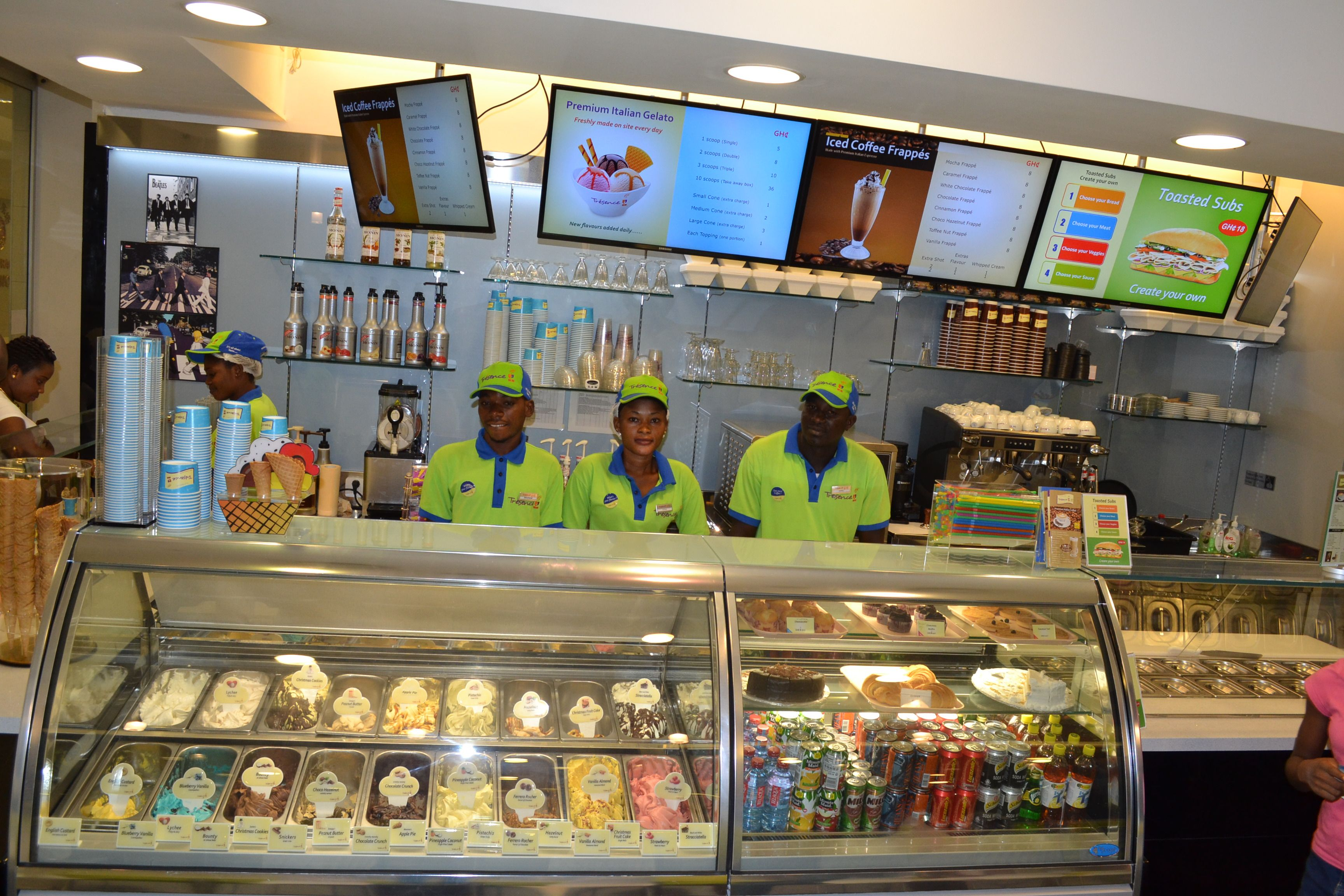 Coffee Ice Cream Shop Located In Nd Floor Oxford Street Mall - Where is oxford located
