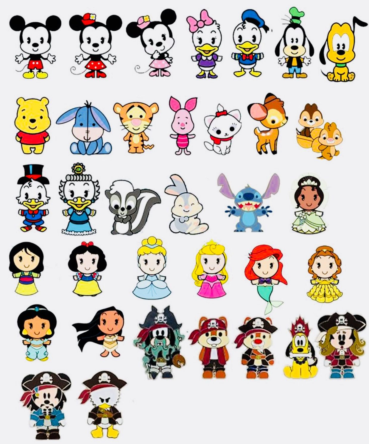 Disney Characters Kawaii Disney Cute Disney Drawings